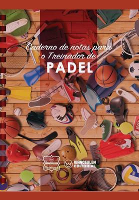 Caderno de notas para o Treinador de Padel Cover Image