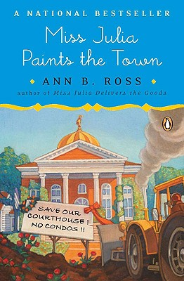 Miss Julia Paints the Town: A Novel Cover Image