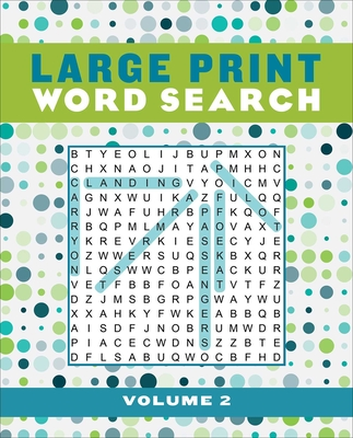 Large Print Word Search Volume 2 (Large Print Puzzle Books #2) Cover Image