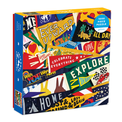 Celebrate Everything 1000 Piece Puzzle in Square Box Cover Image