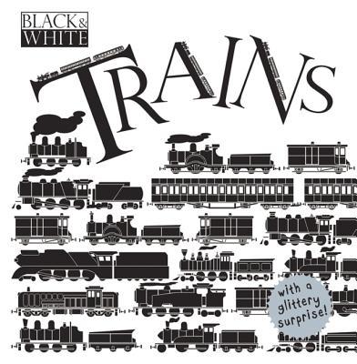 Black & White: Trains (Black & White (Scribblers)) Cover Image