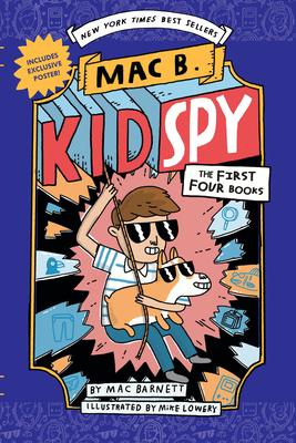 Mac B., Kid Spy Boxset, Books 1-4 (Mac B., Kid Spy) Cover Image