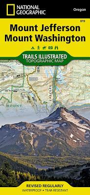 Mount Jefferson, Mount Washington (National Geographic Maps: Trails Illustrated #819) Cover Image