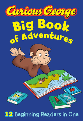 Curious George Big Book of Adventures (CGTV) Cover Image