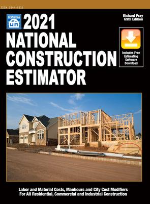 2021 National Construction Estimator Cover Image