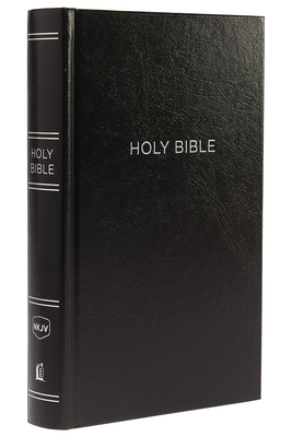 NKJV, Reference Bible, Personal Size Giant Print, Hardcover, Black, Red Letter Edition, Comfort Print Cover Image