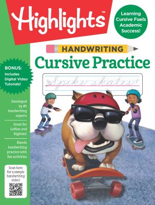 Handwriting: Cursive Practice (Highlights(TM) Handwriting Practice Pads) Cover Image