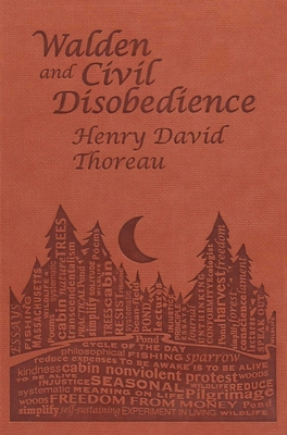 Walden and Civil Disobedience (Word Cloud Classics) Cover Image