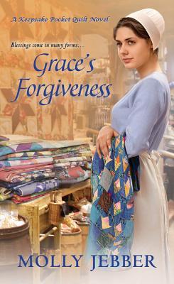Cover for Grace's Forgiveness (A Keepsake Pocket Quilt Novel #2)