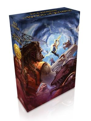 The Heroes of Olympus, Book Five The Blood of Olympus (Special Limited Edition) Cover Image