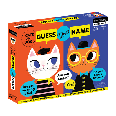 Cats and Dogs Guess Meow Name Cover Image