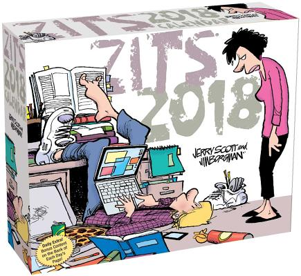 Zits 2018 Day-to-Day Calendar Cover Image