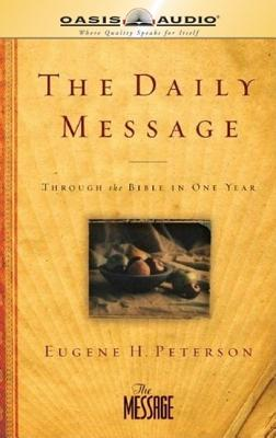 The Daily Message: Complete Message Bible Cover Image