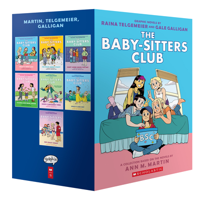 The Baby-Sitters Club Graphic Novels #1-7: A Graphix Collection: Full-Color Edition (The Baby-Sitters Club Graphix) Cover Image