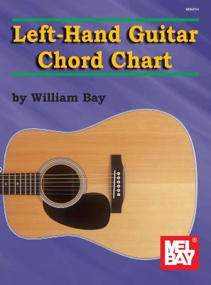 Left-Hand Guitar Chord Chart Cover Image