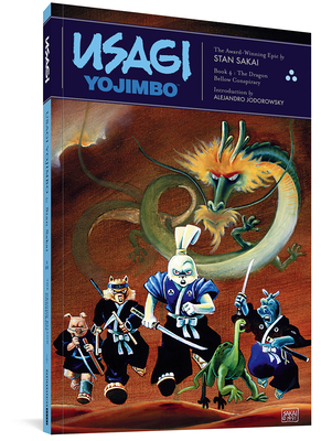Usagi Yojimbo: The Dragon Bellow Conspiracy Cover Image