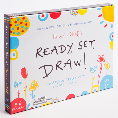 Ready, Set, Draw!: A Game of Creativity and Imagination (Drawing Game for Children and Adults, Interactive Game for Preschoolers to Kids Ages 5-6) Cover Image