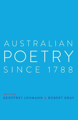 Australian Poetry Since 1788 Cover Image