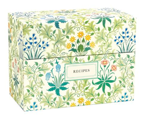 Victoria & Albert Museum William Morris Recipe Box Cover Image