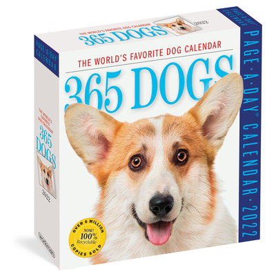 Cover for 365 Dogs Page-A-Day Calendar 2022