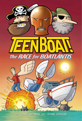Teen Boat! The Race for Boatlantis Cover Image