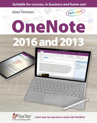 OneNote 2016 and 2013 (Computer Books) Cover Image