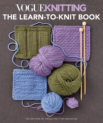 Vogue(r) Knitting the Learn-To-Knit Book Cover Image