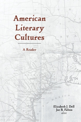 American Literary Cultures: A Reader Cover Image