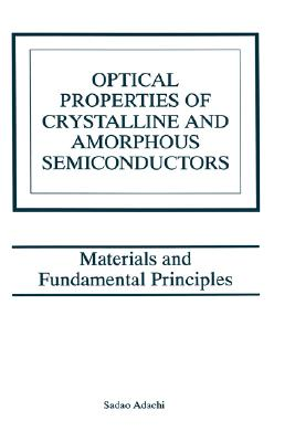 Cover for Optical Properties of Crystalline and Amorphous Semiconductors