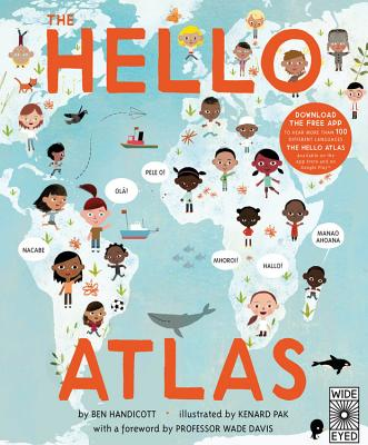 The Hello Atlas: Download the free app to hear more than 100 different languages Cover Image
