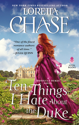 Ten Things I Hate About the Duke: A Difficult Dukes Novel Cover Image