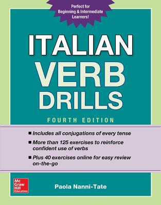 Italian Verb Drills, Fourth Edition Cover Image