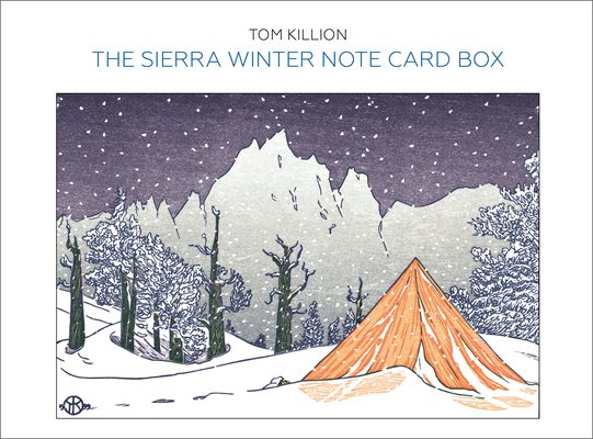 The Sierra Winter Note Card Box Cover Image