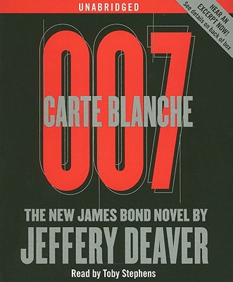 Carte Blanche 007: The New James Bond Novel Cover Image
