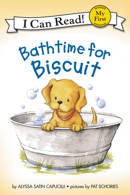 Bathtime for Biscuit (My First I Can Read) Cover Image