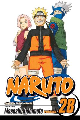 Naruto, Vol. 28 cover image