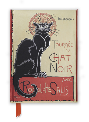 Steinlen: Tournée Du Chat Noir (Foiled Journal) (Flame Tree Notebooks #13) Cover Image