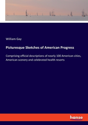 Picturesque Sketches of American Progress: Comprising official descriptions of nearly 100 American cities, American scenery and celebrated health reso Cover Image