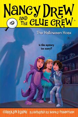 Cover for The Halloween Hoax (Nancy Drew and the Clue Crew #9)