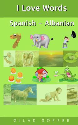 I Love Words Spanish - Albanian Cover Image