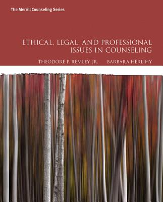 Ethical, Legal, and Professional Issues in Counseling Cover Image