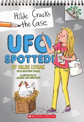 Cover for UFO Spotted!