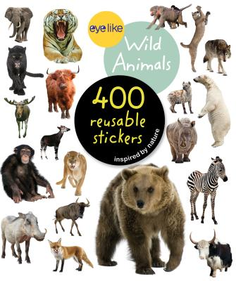 Eyelike Stickers: Wild Animals Cover Image