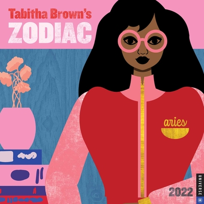 Tabitha Brown's Zodiac 2022 Wall Calendar Cover Image
