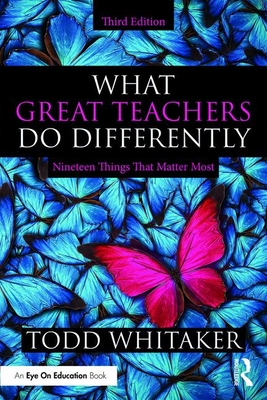 What Great Teachers Do Differently: Nineteen Things That Matter Most Cover Image