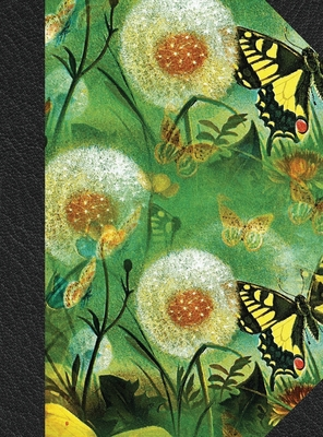 Notary Journal: Hardbound Public Record Book for Women, Logbook for Notarial Acts, 390 Entries, 8.5 x 11, Butterfly Floral Print Cover Cover Image
