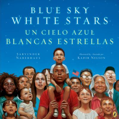 Blue Sky White Stars Bilingual Edition Cover Image