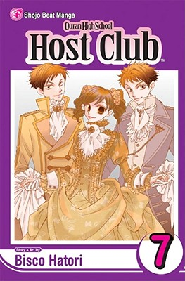 Ouran High School Host Club, Volume 7 Cover