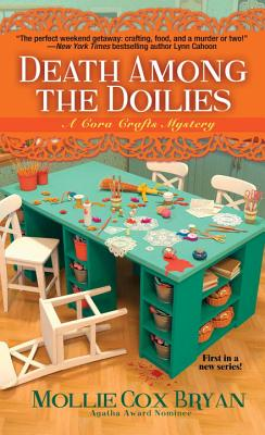 Death Among the Doilies (A Cora Crafts Mystery #1) Cover Image