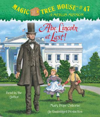 Abe Lincoln at Last! Cover